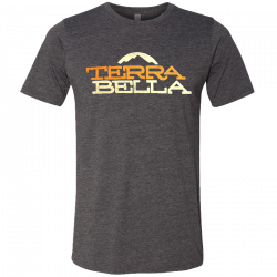 Terra Bella Heather Charcoal Tee