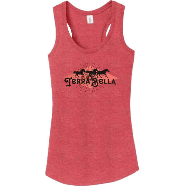 Terra Bella Heather Red Tank