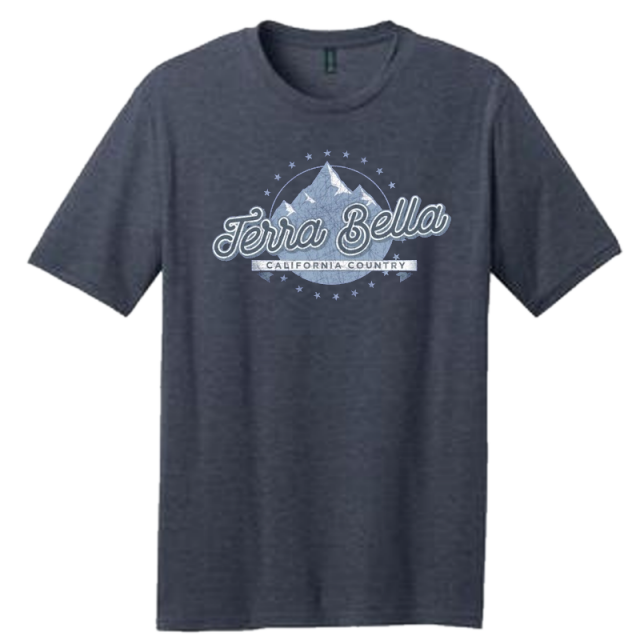 Terra Bella Heather Navy Tee